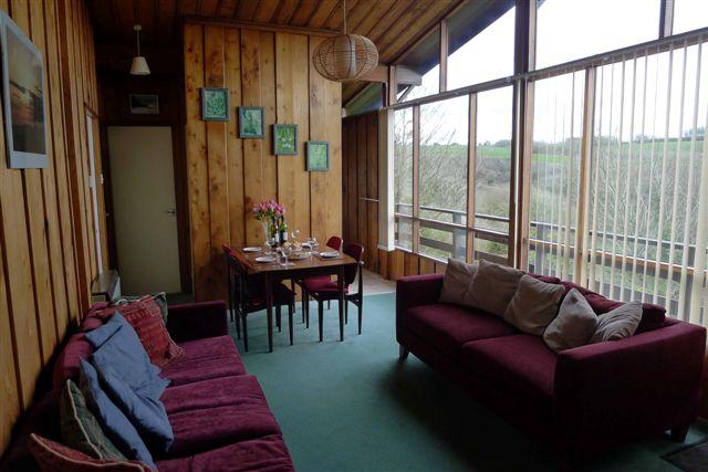 Lounge with Panoramic Window