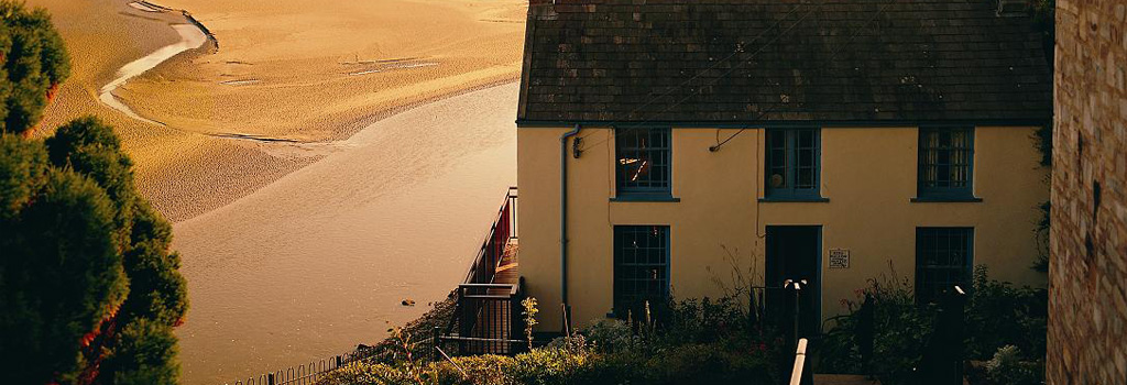 Laugharne Boat House.